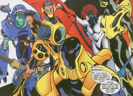 Heavy Mettle (Earth-616) | Marvel Database | Fandom powered by Wikia
