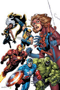 Marvel Adventures The Avengers Vol 1 1 Textless