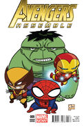 Avengers Assemble Vol 2 9 Joe Quesada Variant