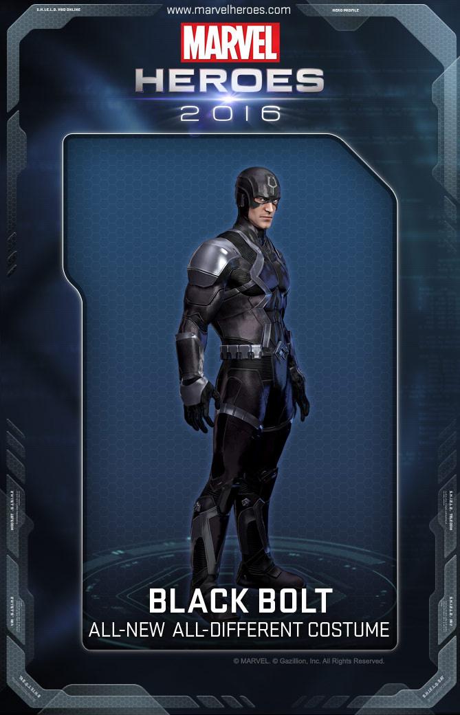 Black Bolt Costumes Marvel Heroes Wiki Fandom Powered