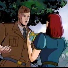 Charles Xavier when he met Moira.