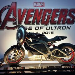 Project Livewire's Harley Davidson Electric Bike on display at SDCC'14