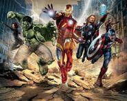 Avengers-mural