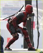 Deadpool Filming 7