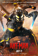 Yellowjacket Ant-Man Poster