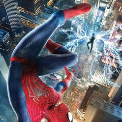 International poster Spidey vs. Electro.