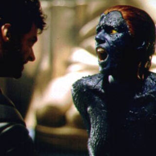 Mystique is stabbed by <a href=