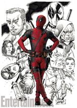 Deadpool Rob Liefeld Poster