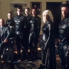 The team as seen in <i>X2: X-Men United</i>.