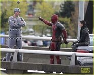 Deadpool Filming 37