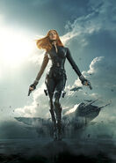 Captain-America-The-Winter-Soldier-BlackWidow posterart