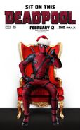 Deadpool Christmas Poster