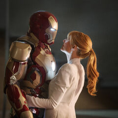 Iron Man sharing a moment with <a href=