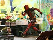 Deadpool reshoots 4
