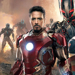 Tony Stark's new Iron Man armor featured on the Cover of Entertainment Weekly