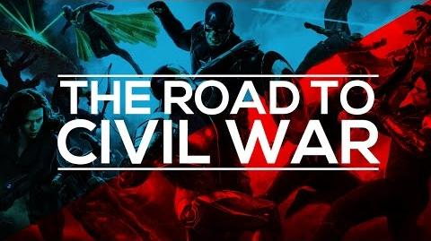 MCU Supercut - The Road To Civil War
