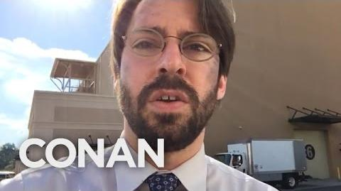"Martin Starr Spills ""Spider-Man Homecoming"" Spoilers - CONAN on TBS"