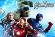 Avengers live banner