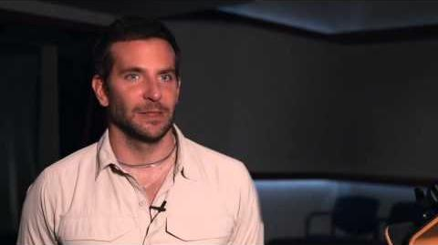 Marvel's Guardians of the Galaxy Bradley Cooper Behind the Scenes Movie Interview