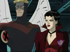 Angel and Scarlet Witch