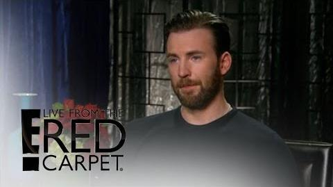 """Captain America Civil War"" Stars Geek Out for Spider-Man E! Live from the Red Carpet"
