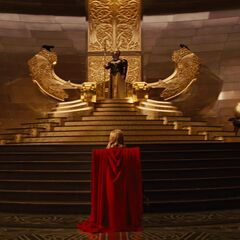 Thor's royal ceremony.