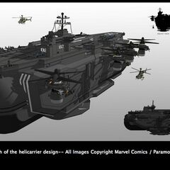 Helicarrier concept art.
