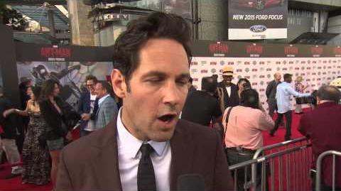 Ant-Man World Premiere Interview - Paul Rudd