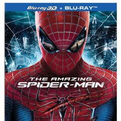 The Amazing Spider-Man<br />UK Blu-ray 3D cover