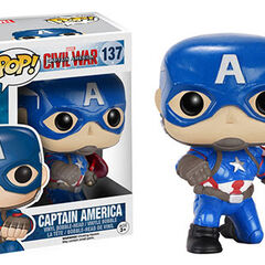 Captain America action pose