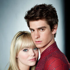 Promotional Image of Gwen and Peter Parker.