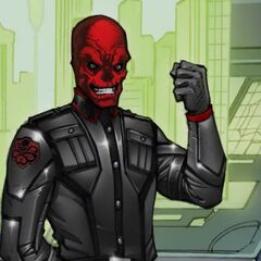 Red Skull in the Captain America IOS game