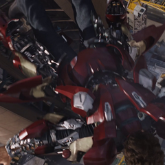 Mark VII armors up.