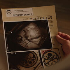 S.H.I.E.L.D. Hydra and Tesseract file.