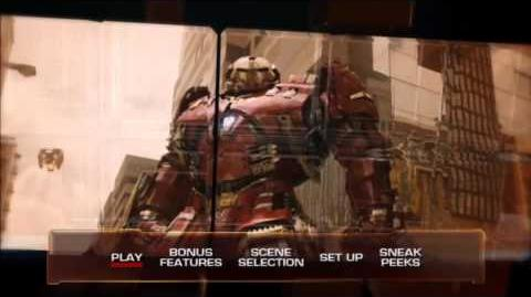 The Avengers Age of Ultron blu-ray menu