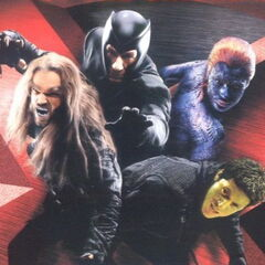 The Brotherhood as seen in <i>X-Men</i>.