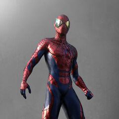 Unused concept art for the new costume in <i>TASM 2</i>.