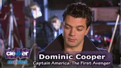 Dominic Cooper 'Captain America The First Avenger' Interview