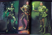 Thor Concept Art - Loki 009
