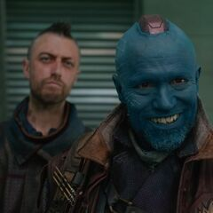 Kraglin and Yondu.