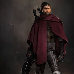 Concept art for Bishop in <i>X-Men: Days of Future Past</i>.