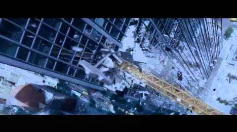 Crane Disaster Deleted Alternate Scene - Spider-Man 3 1080p Full HD