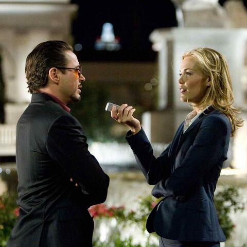 Christine interviews Tony Stark