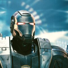Head shot of War Machine.