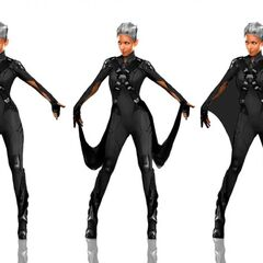 Concept art for Storm in <i>X-Men: Days of Future Past</i>.