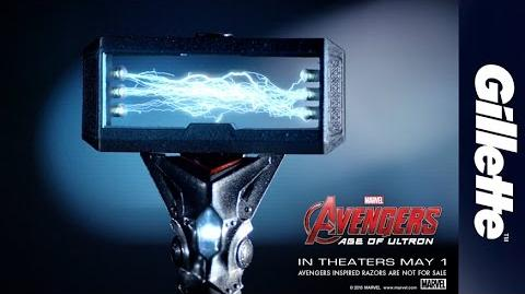 Innovation Film Gillette Rebuilt With Avengers-Inspired Technology