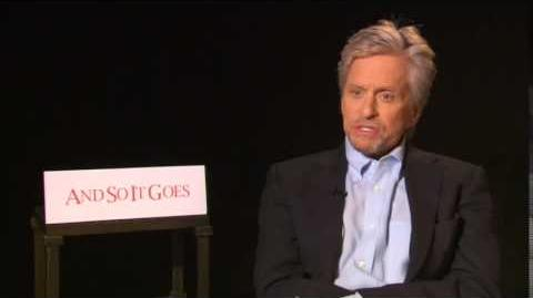 Michael Douglas on Ant Man