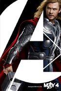 Thor Avengers poster