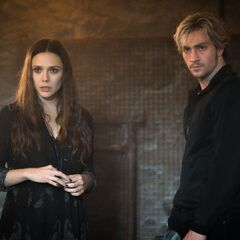 Wanda With Her Brother Pietro