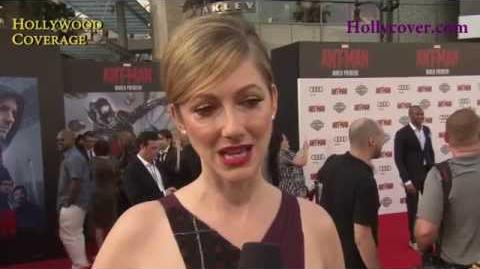 Ant-Man World Premiere Interview - Judy Greer and Michael Pena
